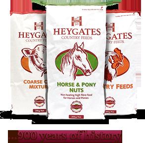 Bulk and bagged livestock feeds - Heygates