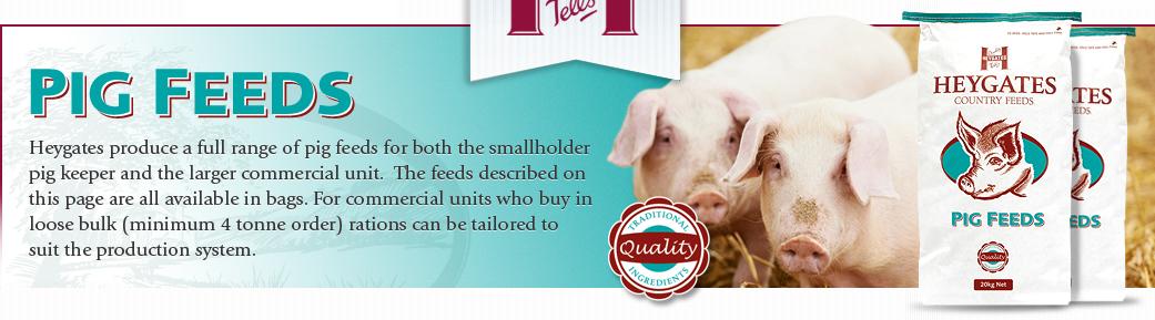 Pig feeds - Heygates